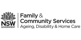 Department of Family and Community Services logo